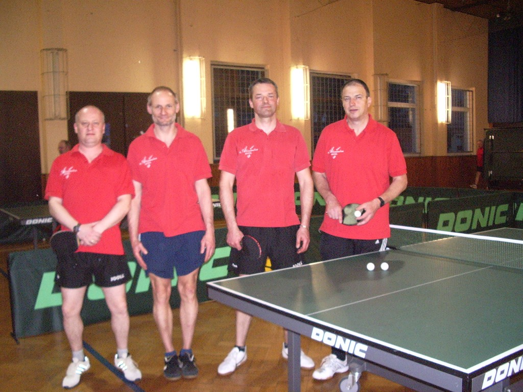 1. Mannschaft Tischtennis SG Straßberg